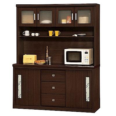 綠活居 范尼拉5.2尺多功能餐櫃/收納櫃組合(二色)-155x45x197cm-免組