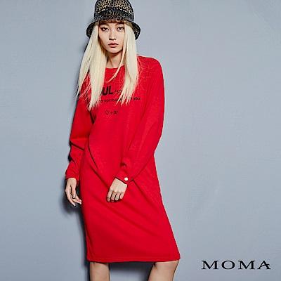 MOMA 字母縮袖洋裝