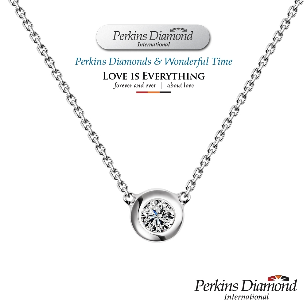 PERKINS 伯金仕 - GIA ONO系列 0.30克拉E VS1 鑽石項鍊