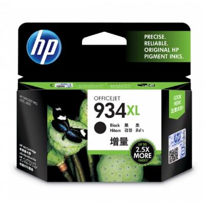 HP C2P23AA 原廠黑色高容量墨水匣 NO:934XL