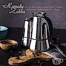【Homely Zakka】都會簡約不鏽鋼咖啡壼/摩卡壼(6杯)