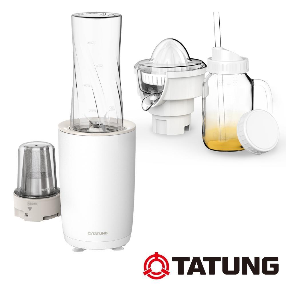 TATUNG大同 400ml輕享飲品機-附榨汁頭和梅森杯(TJC-P150U)