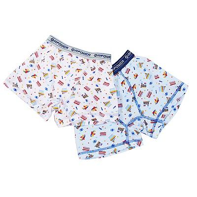 印花純棉平口內褲(四件一組)  k50551 魔法Baby