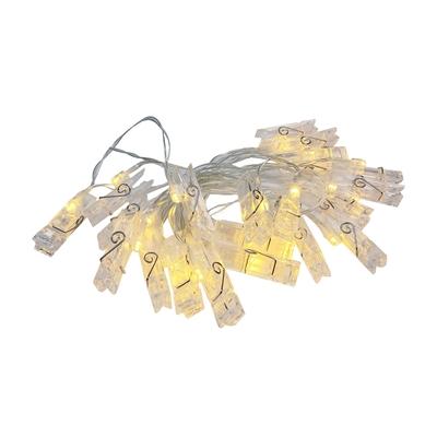 驛森町 文創LED夾子燈(3M)
