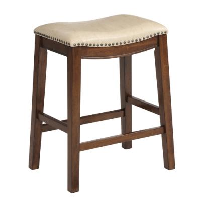 [時時樂限定] AT HOME 輕工業風吧台椅/高腳椅(74cm/64cm)(2色)