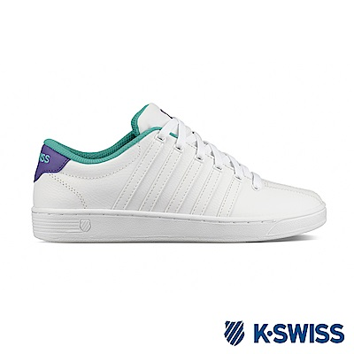K-SWISS Court Pro II CMF時尚運動鞋-女-白/紫/綠