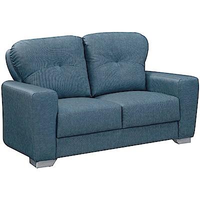 綠活居 耶魯時尚耐磨貓抓皮革二人座沙發椅-140x85x90cm免組