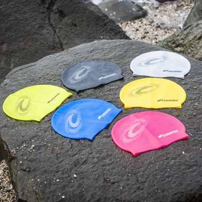 AROPEC 三鐵成人矽膠泳帽.游泳帽 男女通用 防水護耳 成人泳帽 長髮適用