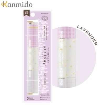 日本Kanmido PENtoNE 筆型便條紙 PT-1008 薰衣草 (2018限定款)