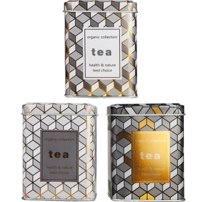 《IBILI》幾何圖騰茶葉收納罐