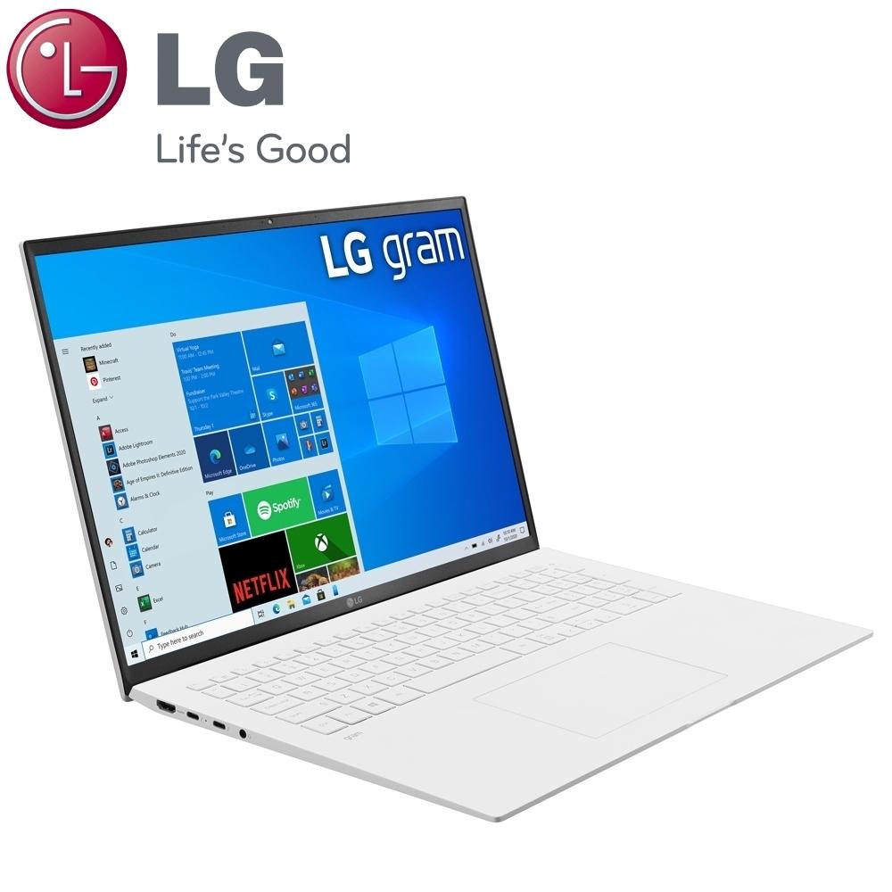 (含微軟365組合)【LG 樂金】Gram 17Z90P 17吋筆電-白色(i5-1135G7/16G/512G SSD/17Z90P-G.AA54C2)