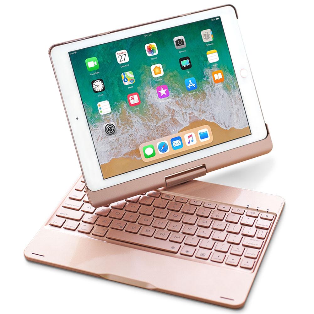 GREENON 鍵盤保護套F8S 旋轉版 iPad 2018/Pro 9.7 注音鍵盤