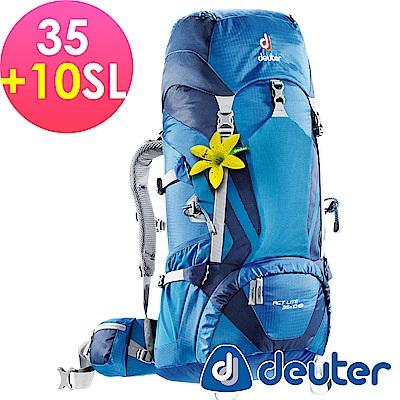 【ATUNAS 歐都納】德國DEUTER輕量化拔熱背包R35+10SL-3340015深藍
