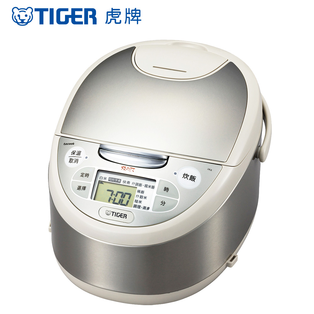 (TIGER虎牌 日本製)10人份tacook微電腦炊飯電子(JAX-G18R)