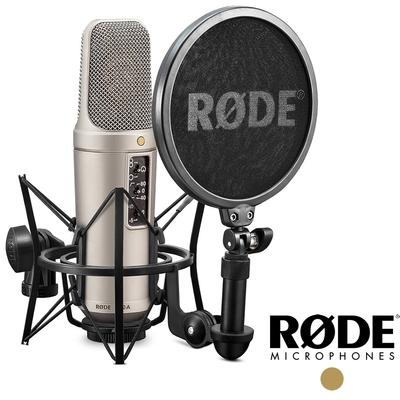 RODE 羅德 NT2-A / NT2A 電容式麥克風 (公司貨) 錄音室等級套組 適合 PODCAST 直播 網紅 播客 RDNT2A