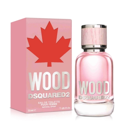 DSQUARED2 WOOD 天性女性淡香水30ml