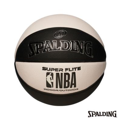 SPALDING NBA SUPER FLITE系列-黑/白 合成皮 #7