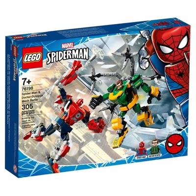 樂高LEGO 超級英雄系列 - LT76198 Spider-Man & Doctor Octopus Mech Battle
