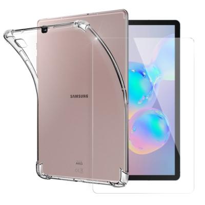 CITY for 三星 Samsung Galaxy Tab S6 Lite 平板5D 4角軍規防摔殼+搭配專用玻璃組