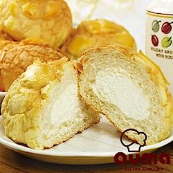 (滿699)奧瑪烘焙 原味冰火菠蘿包(8入/包)