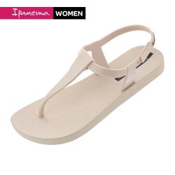 IPANEMA SENSATION SANDAL簡約幾何T字涼鞋-米