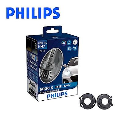 PHILIPS超晶亮LED H7頭燈兩入裝-FORD FIESTA 14年後專用組合