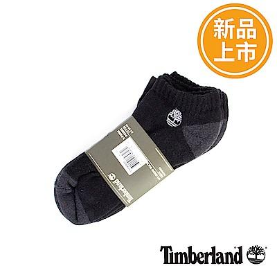 Timberland  黑色有機棉休閒短襪