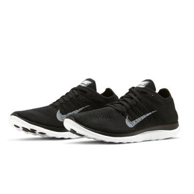 NIKE  慢跑鞋 赤足 訓練 健身 運動鞋 男鞋 黑 631053001 Free 4.0 Flyknit