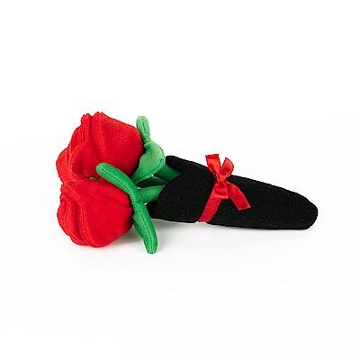 ZippyPaws仿真小物品-情人節玫瑰花束  有聲玩具