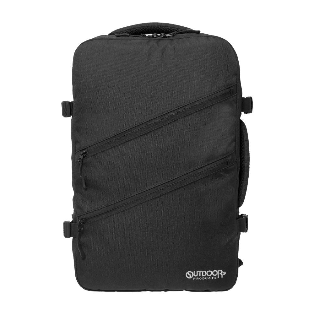 【OUTDOOR】悠遊寰旅-17吋電腦後背包-黑色 OD191122BK