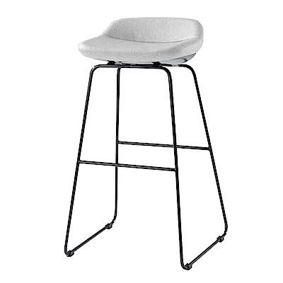 Bernice-荷娜造型吧台椅/高腳椅(高)(二色可選)-40x32x83cm
