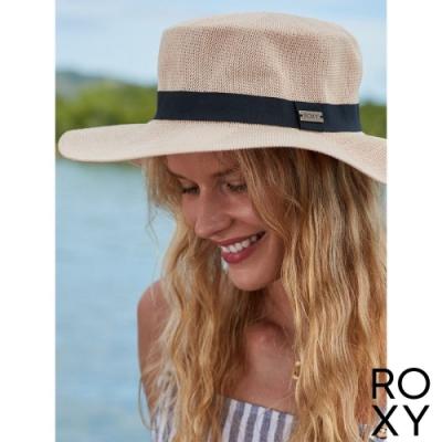 【ROXY】GET SOME SUNSHINE 巴拿馬草編帽 卡其