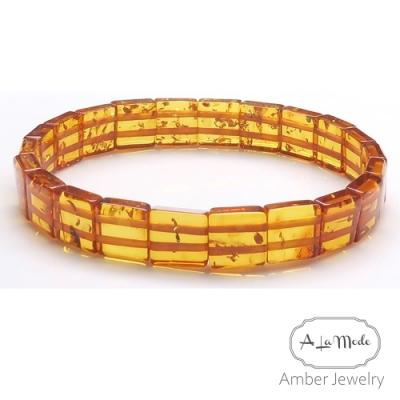Alamode 蜂蜜色琥珀手排