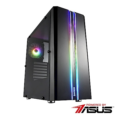 華碩B365平台 [探索鬥尊]i3四核GTX1660Ti獨顯SSD電玩機