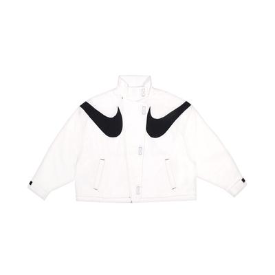 NIKE 女 AS W NSW RPL SWSH WVN GX JKT  棉質運動外套 -DD5585100