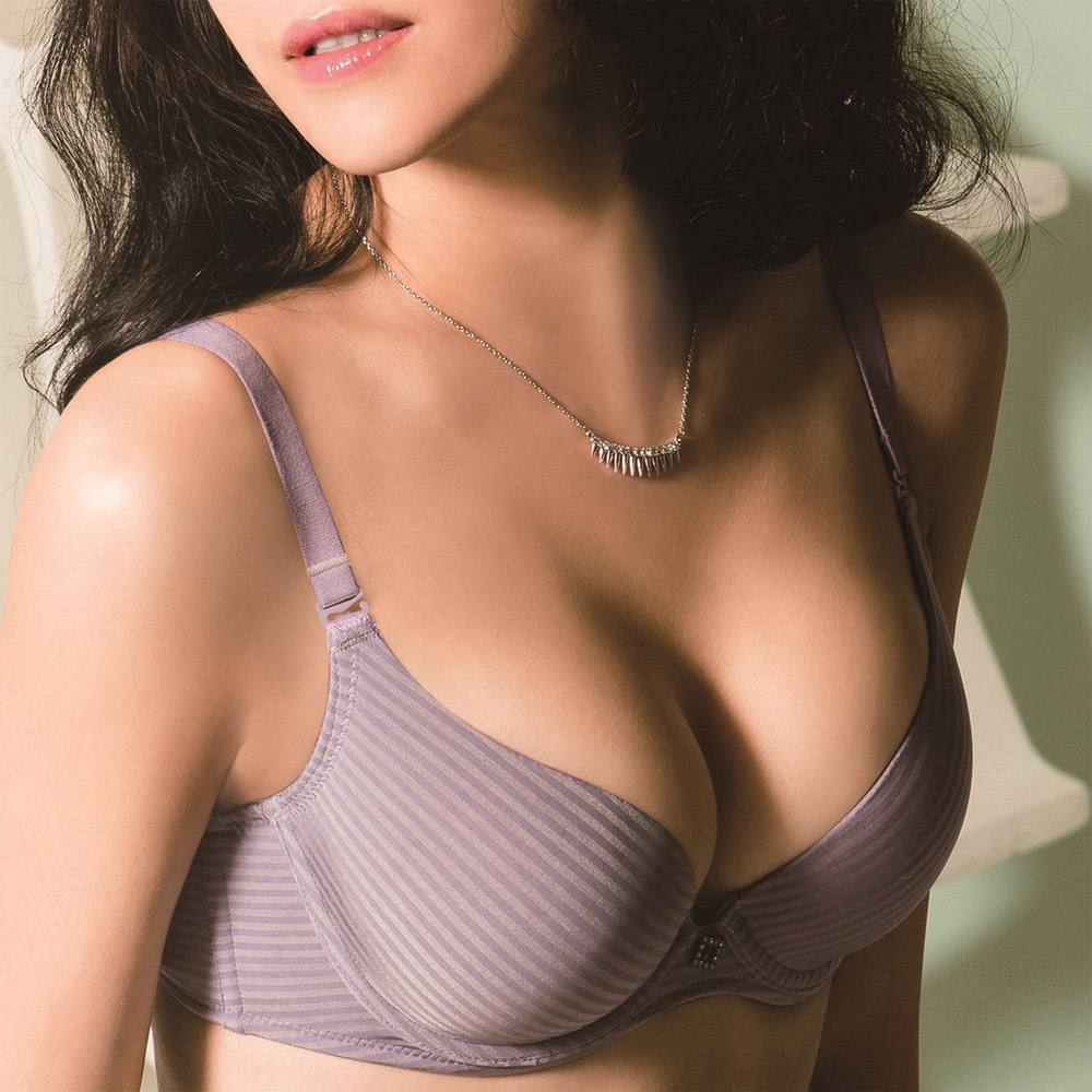 華歌爾-High Q記形A-C罩杯內衣(暮光紫)