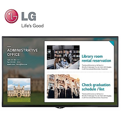 LG 樂金32吋高階多功能廣告機顯示器32SE3KE