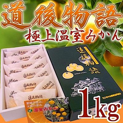【天天果園】日本愛媛縣蜜柑原裝盒 x1kg(15-16入)