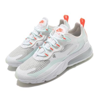 Nike 休閒鞋 Air Max 270 React 女鞋 氣墊 避震 舒適 簡約 球鞋 穿搭 白 綠 CJ0620100