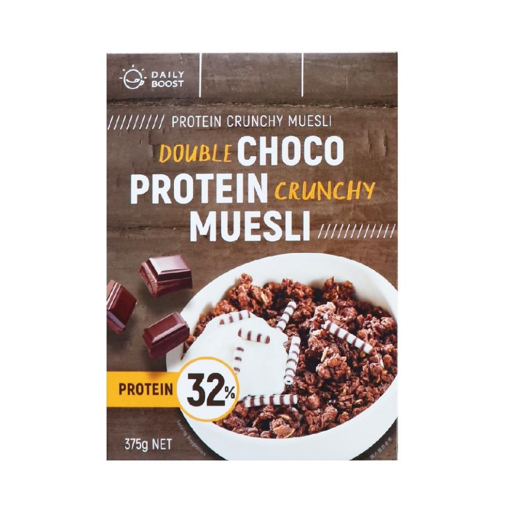 Daily Boost日卜力 雙倍可可蛋白質酥脆穀物(375g/盒)