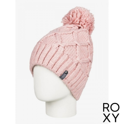 【ROXY】WINTER BEANIE 毛帽 粉紅