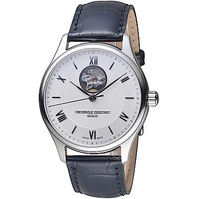 康斯登CONSTANT經典開芯紳士手錶(FC-310MS5B6)