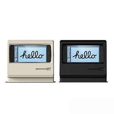 elago iPhone M4賈伯斯Macintosh造型充電支架-限量紀念款