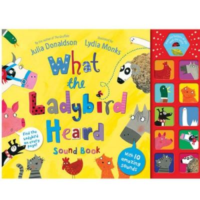 What The Ladybird Heard Sound Book 精裝有聲故事書