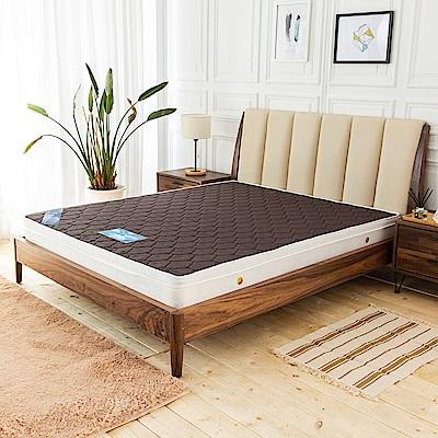 時尚屋 奧狄斯英式經典6尺加大雙人獨立筒彈簧床墊