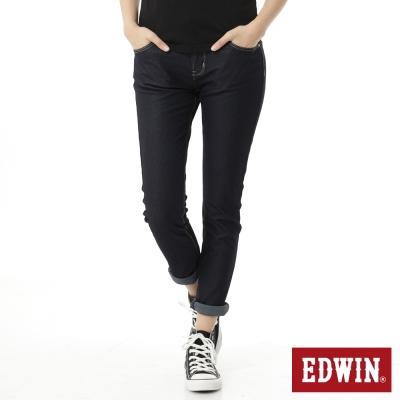 EDWIN 迦績褲JERSEYS X B.T牛仔褲-女-原藍色