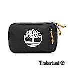 Timberland 中性黑色大樹標誌印花插扣腰包|A1CV9