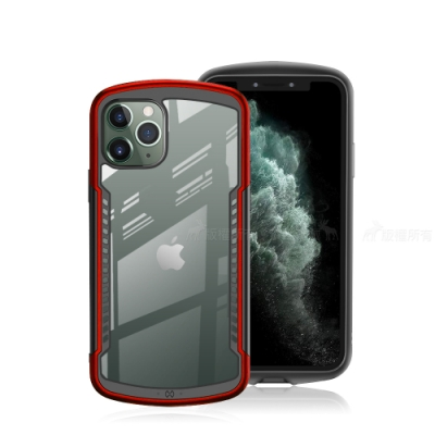 XUNDD 阿爾法系列 iPhone 11 Pro 5.8 吋 軍規防摔手機殼(烈焰紅)