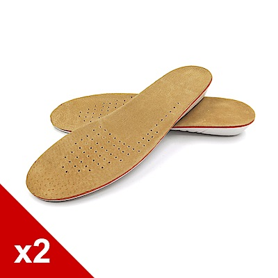 糊塗鞋匠 優質鞋材 B33 EVA2.5cm豬反毛皮增高墊 2雙