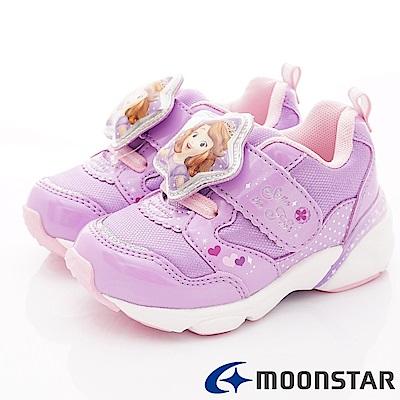 日本Carrot機能童鞋 蘇菲亞聯名電燈鞋款 ON2262紫(中小童段)